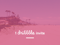 1 Dribbble Invite Up For Grabs
