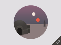 Star Wars CSS3