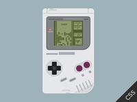 CSS3 Gameboy