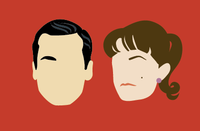 mad men magnet set