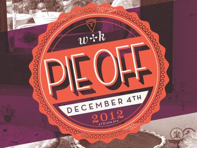 Pie Off Contest Design