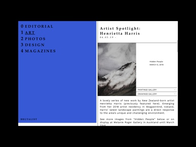 Brutalist Websites esthétique brute expériences brutalistes design art design brutalist websites brutalist