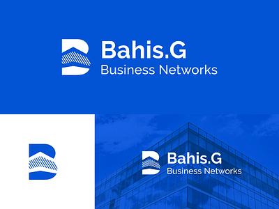 Bahis.G letter business net identidade visual buildings logotype idenity vecteur illustration logo conception image de marque