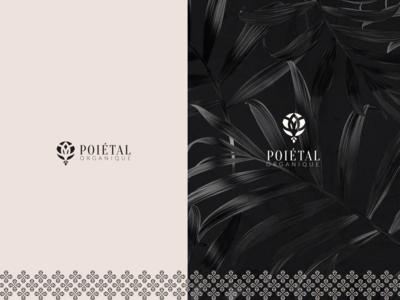 Poietal luxury monogram mark identity new agency luxe branding brand logo