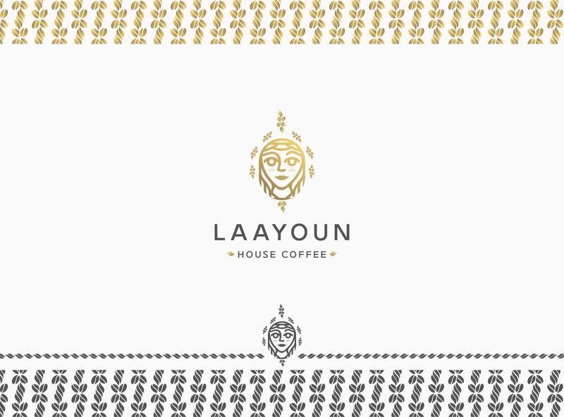 laayoun logo luxury monogram mark identity new agency luxe branding brand logo