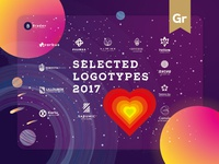 Selected Logotypes 2017 Featured On Behance