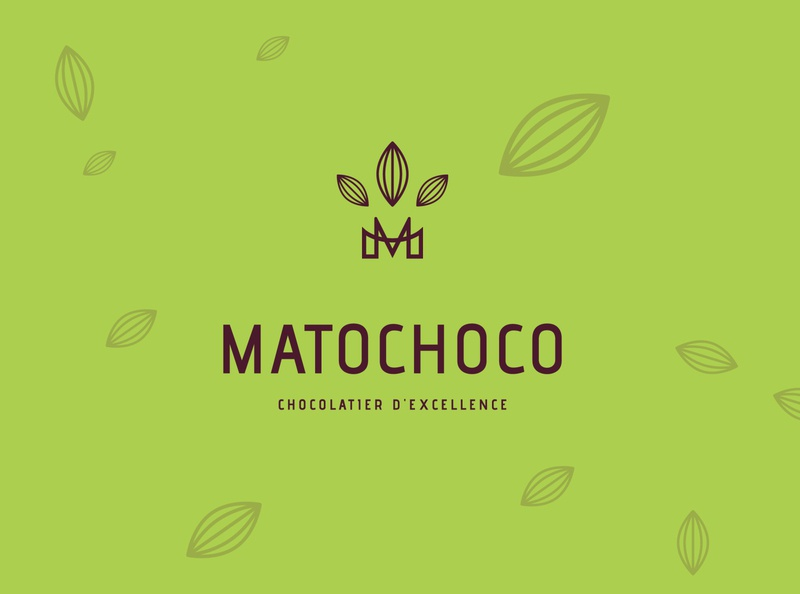 MATOCHOCO trademark monogram luxury mark identity luxe agency branding brand logo