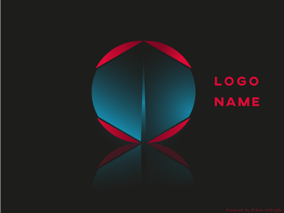 red color logo name icon design logo design logodesign logotype logo