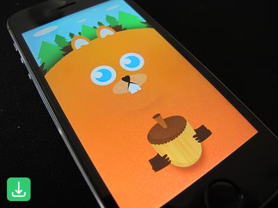 Fat Squirrel Wallpaper wallpaper free iphone5 iphone5s ios illustration