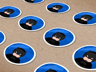 Batman Stickers sticker stickers illustration batman