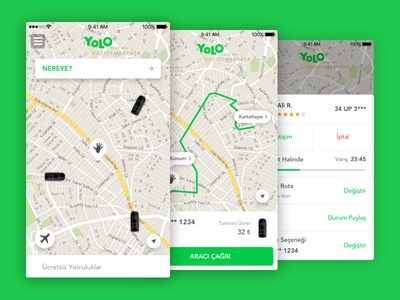 YOLO iOS mobile ux ui ios yolo