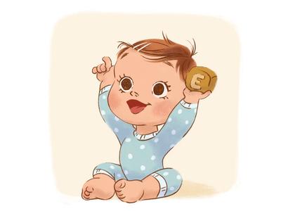 Baby - part 2 photoshop toy children book illustration childrens illustration baby character illustration