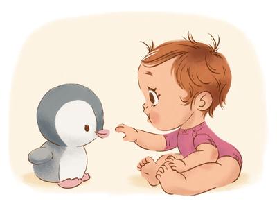 Baby - part 3 children book illustration photoshop childrens illustration baby character illustration
