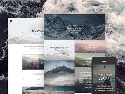 Kopy WP - Simply a Blog WordPress Theme blog blogging clean content creative gallery minimal personal photography platform publish typography