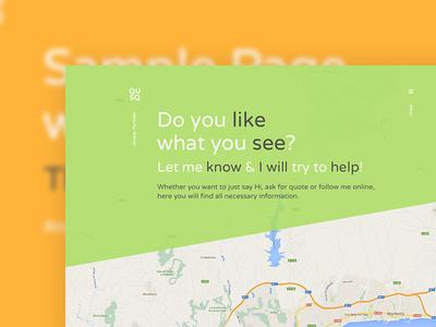 Qusq logo tagline header map flat contact