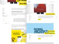 Wert - Blog Overview & Detail