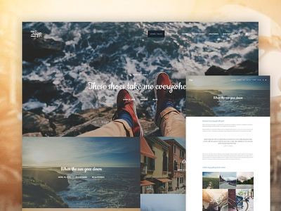 Tayp WP - WordPress Blogging Theme travel portfolio photography responsive content typography storytelling story blogging blog