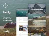 Hedy WP - Hedy - WordPress Blog Traveler Theme