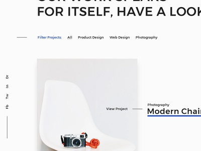 Cubis... white space content oriented typography clean filter hover theme blog home portfolio