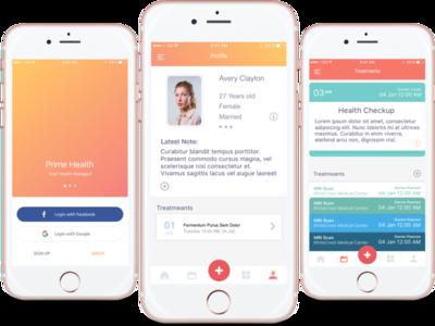 Prime Health - iOS Health App ios iphone health track fitness
