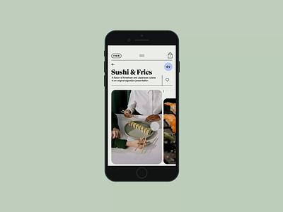 Limerick app motion restaurant delivery food mobile app animation clean ux ui design