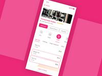 Salon App Design