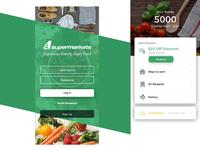 Super Market App UI Design