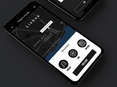Lifta - Volvo rideshare app design volvo rideshare rideshare app product design portugal ux interface design ui app interface