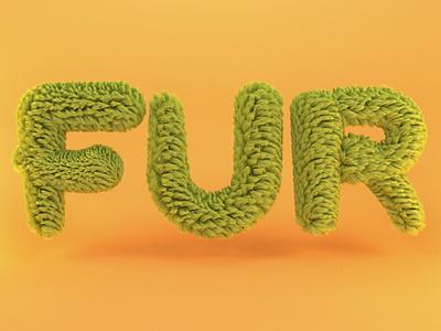 Fur hair furry fur mdcommunity illustration design redshift3d 3d render dribbble cinema4d after effects c4d