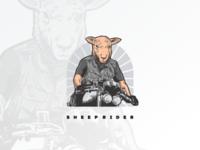 Sheep Biker