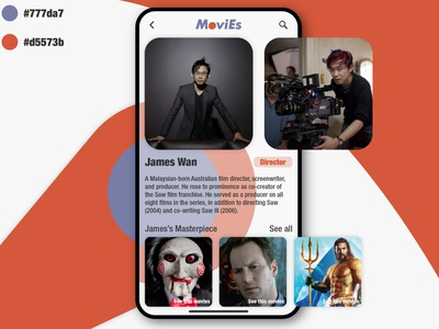 MoviEs - Movie Discovery app. UI Challenge - User Profile