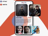 MoviEs - Movie Discovery app. UI Challenge - User Profile