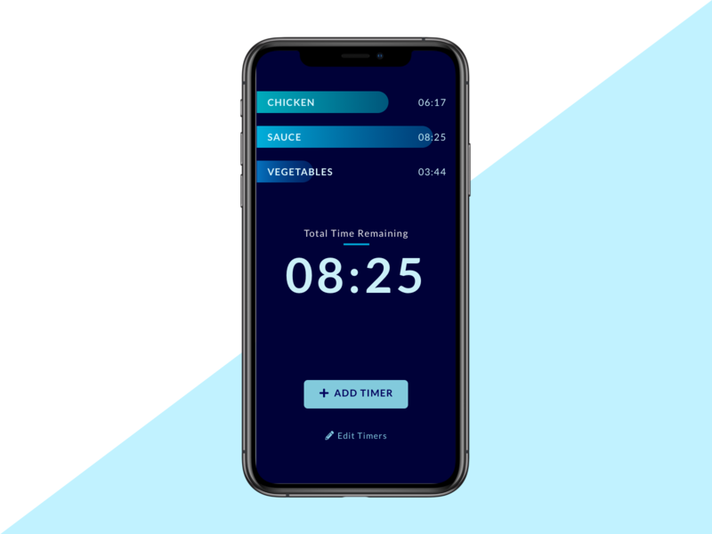 Daily UI 014 - Countdown Timer time cooking timer app timer dailyui 014 daily ui 014 dailyuichallenge mobile design ui mobile ui mobile app mobile app design mobile design dailyui daily ui daily ui challenge