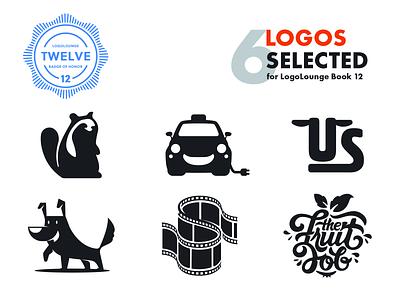 Selected Logos for Logo Lounge fruit mascot dog cab beaver logolounge branding vector illustrator identity mark brand logo
