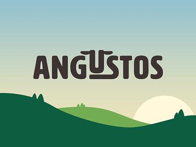 Black Angus Farm Logo WIP identity logomark brand illustrator mark branding logo