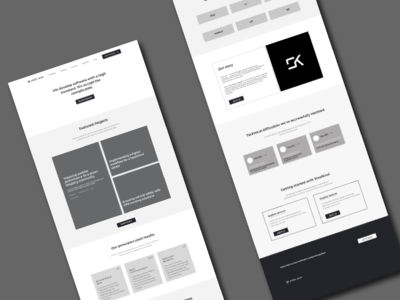 Landing Page for Software Development Services