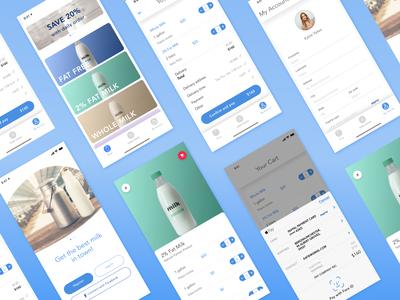 Milk delivery ios app