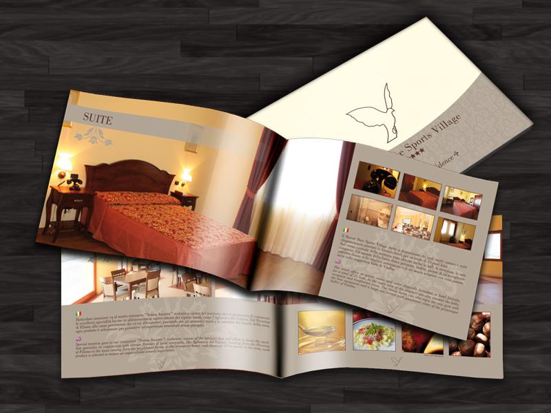 Resort Pace Brochure agritourism resort italy lucania holydays brochure