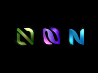 N PASS logo design monogram fluo initial logo brand identity logo design vector branding lettering logo