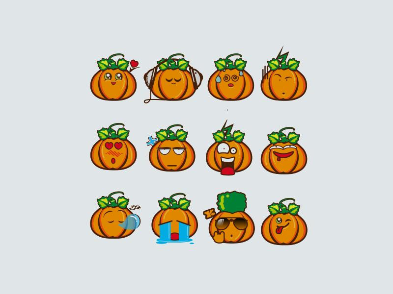 Funny Pumpkins By Aramisdream On Dribbble