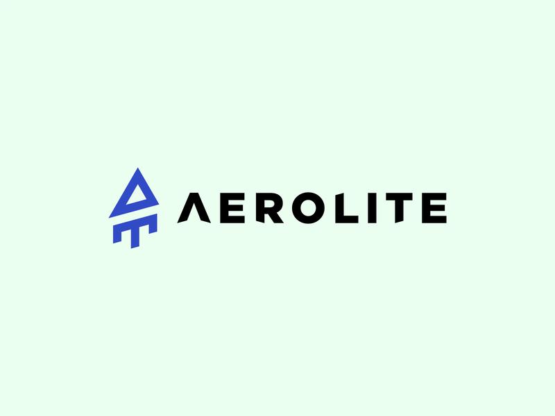Aerolite logo design graphicdesign brand design branding techlogo logodesign logotype logo
