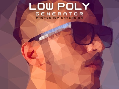 Low Poly Generator Photoshop Extension by Artorius Design on