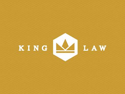 King Law Brand logo graphic design icon brand identity design branding corporate logotype graphic
