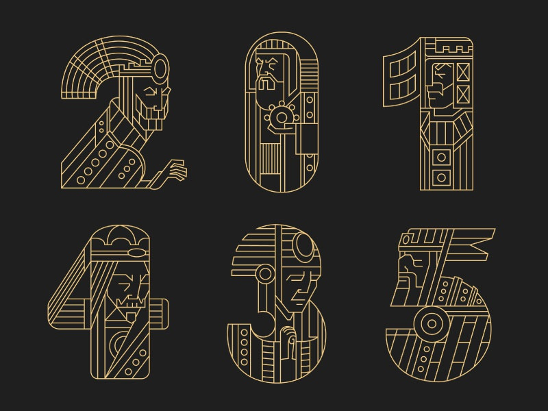 Rulers (letters) 3 viking typography rulers letters lettering kings king crown 36daysoftype