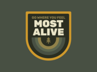 Most Alive Adventure Badge