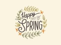 First Day Spring!