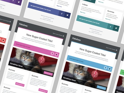 CakeMail - Newsletter Templates