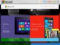 Sneak Peak - Microsoft Redesign
