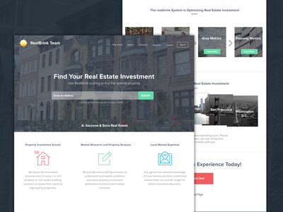 RealBrink Real Estate Site