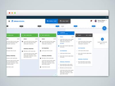 Weekly Coaching Conversation - Web Application
